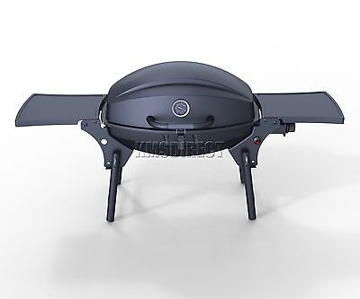 FoxHunter Garden Outdoor Portable Foldable BBQ Gas Grill Barbecue Barbeque Black