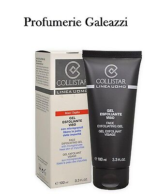 COLLISTAR GEL ESFOLIANTE VISO LINEA UOMO - 100 ml