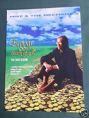 Mike & The Mechanics - Magazine Clipping / Cutting- 1 Page Advert