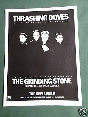 Thrashing Doves - Magazine Clipping / Cutting- 1 Page Advert