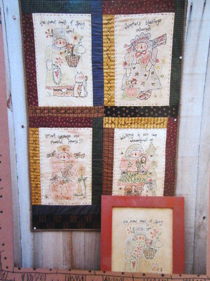 Meme's Quilts Stitchery PATTERN- Your Choice
