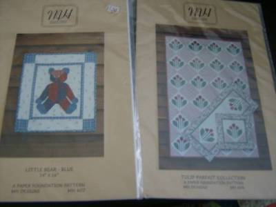 MH Designs Quilt Sewing PATTERN- Your Choice