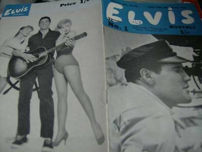 Elvis Monthly UK Booklets- 4th Year -1963- 6 Issues- #1/2/3/4/5/6