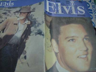 Elvis Monthly UK Booklets- 22nd Year -1981- 6 Issues- #258/259/260/261/262/263