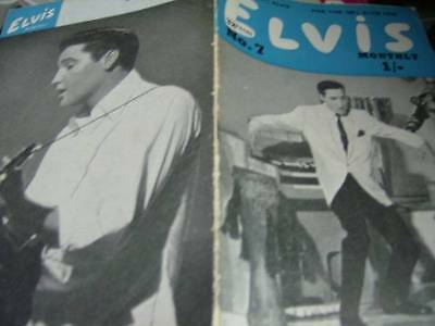 Elvis Monthly UK Booklets- 4th Year -1963- 6 Issues- #7/8/9/10/11/12