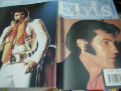 Elvis Monthly UK Booklets- 39th Year -1998- 6 Issues- #463/464/465/466/467/468