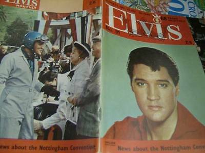 Elvis Monthly UK Booklets- 8th Year -1967- 3 Issues- #91/94/95