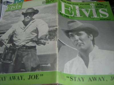 Elvis Monthly UK Booklets- 21st Year -1980- 6 Issues- #246/247/248/249/250/251