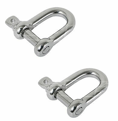 Shackle Swivel Shackle Stainless Steel A4 10mm Arbo-Inox
