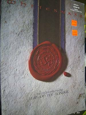 Whitesnake Selections From Slip Of The Tongue Music Book Guitar/Vocal
