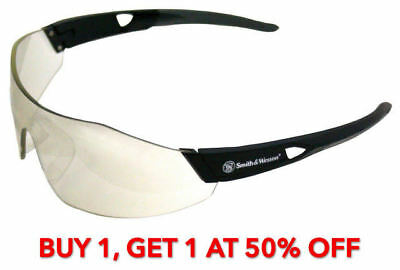Smith & Wesson Indoor/Outdoor 44 Magnum Black Safety Glasses