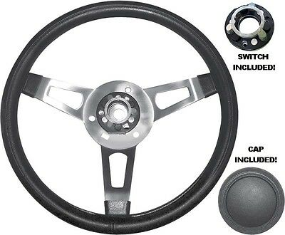 Mopar Tuff Steering Wheel with Cap and Functioning Switch Assembly Cuda Charger