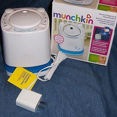 Munchkin Nursery (Projector Does Not Work) Sound System White (B01)