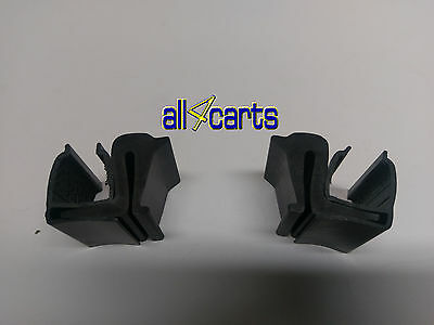 (2) Pair Windshield Clips for Club Car & Yamaha Univesal  | 1 inch | Golf Cart