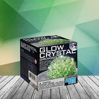 Glow In The Dark Crystal Growing Kit – Science Experiment Chemistry Molecules Ch