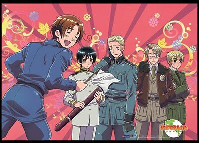 *NEW* Hetalia: Italy Surrenders Landscape Wall Scroll by GE Animation