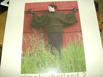 Simply Shetland Knitting Book #2 All Shown- Family Styles
