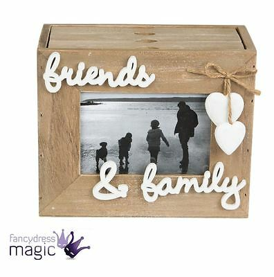 Sass & Belle Farmhouse Friends Family Wooden Photo Picture Frame Album Home Gift