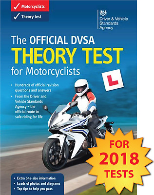 Official DVSA Motorbike/Motorcycle Theory Test DVD for PC and MAC 2016/17