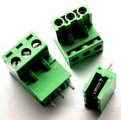 10PCS KF2EDGK KF-3P Right-Angle Plug-in Terminal Connector 5.08mm Pitch T2
