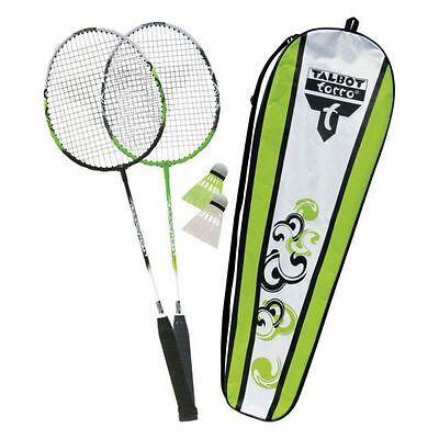 Talbot Torro Badminton Set 2 Attacker Federball Set Schläger Badmintonset NEU