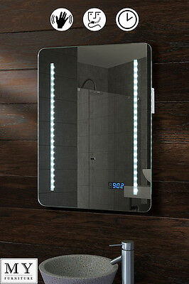 Led Illuminated Bathroom Mirror Ip44 Shaver Sensor - Astro