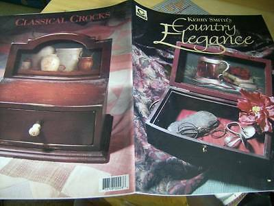 Kerry Smith's Country Elegance Painting Book- Fishing, Men's Desk, Vegetables, T