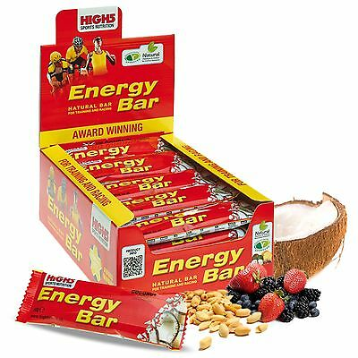 High5 Cycling/Training/Event/Running Energy Bars, 25 Pack (Multi Pack)