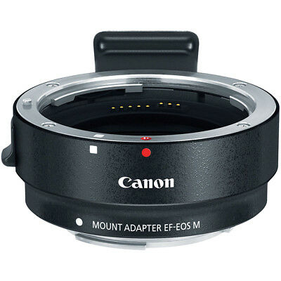 Canon EF-EOS M Mount Adapter for EF Lens to EF-M EOS M Digital ILC Camera
