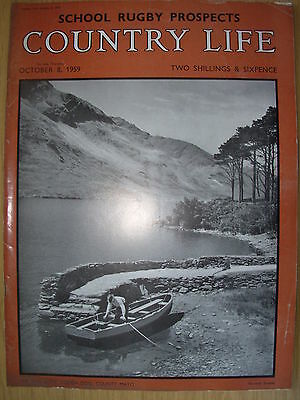 VINTAGE COUNTRY LIFE MAGAZINE OCTOBER 8th 1959 IDEAL BIRTHDAY GIFT - COUNTY MAYO