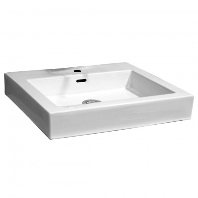NEW Castano Zola Square Above Basin Counter Ceramic Vanity Vessel Bathroom Sink