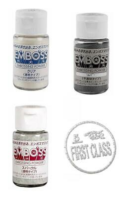 EMBOSSING PULVER 30 ml (16,50€/100ml) TSUKINEKO Embossingpulver Emboss It