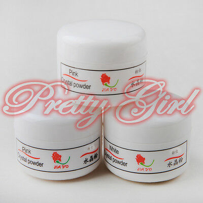 3pcs Nail acrílicas Powder Liquid rosa de uv polvo gel para uñas artificiales