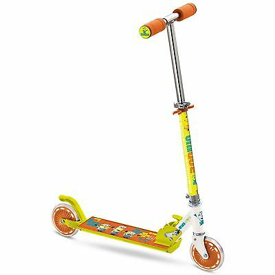 Despicable Me Minions Folding In-Line Scooter Anti-Slip Kids Official Free P+P