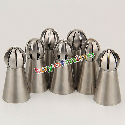 1Pc Russian Flower Cake Decorating Icing Piping Nozzles Pastry Tips Baking Tool