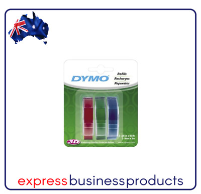 Dymo Embossing Tape Red Blue Green 900mmx3m - DMSD1741671