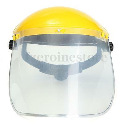 Clear Flip Up Face Mask Shield Screen Full Visor Safety Workwear Eye Protection