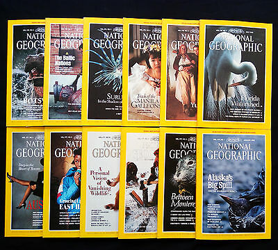 National Geographic Inglese Completo 1990 con inserti the baltic nations siberia
