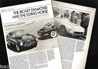 PEGASO Cars/Auto History Article / Photos / Pictures: THRILL, Z103