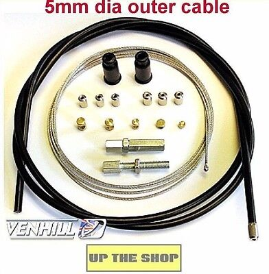 Venhill Universal Throttle Cable  MX, Enduro,Trials, Motorcycle  U01-4-100/A