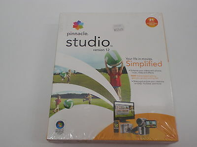 Pinnacle Studio Version 12 Video Editing Software New
