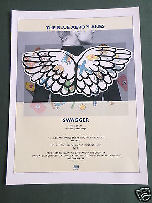 The Blue Aeroplanes - Magazine Clipping / Cutting- 1 Page Advert