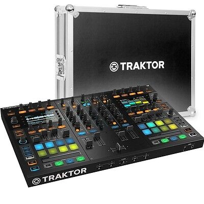 Native Instruments Traktor Kontrol S8 DJ Software Controller with Flight Case