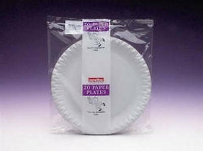 Caroline Paper Plates 23cm /9 Inch Pack Of 20 1402 Pack Of 10
