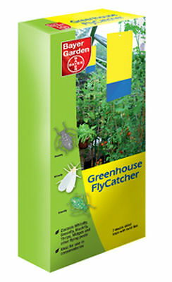 Bayer Garden Greenhouse Fly Catcher 7 Panel 80048750 Pack Of 20