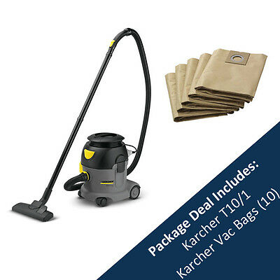 Karcher Vacuum Cleaner - T10/1 Professional And Pack Of 10 Bags - 15274110