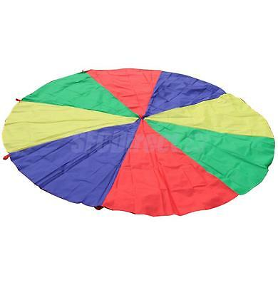 5M Kids Play Rainbow Parachute Outdoor Game Exerclse Sport Group Activities