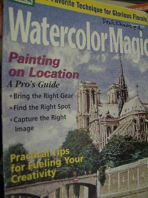 Watercolor Magic Magazine Summer 1999 Landscapes, Florals, On Location, Venice-