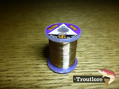 Gold Utc Ultra Wire Brassie Size - 12 Yard Spool - New Fly Tying Threads
