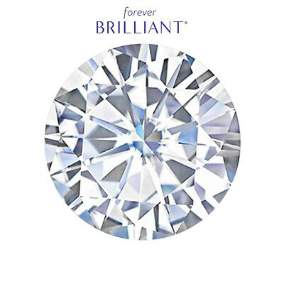 Round Brilliant Cut Forever Brilliant® Moissanite Loose Stone Charles & Colvard®